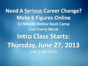 1-Online Marketing Class Promo